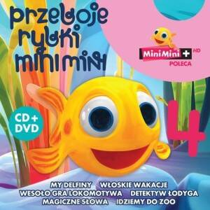 Rybka Mini Mini: Przeboje Rybki Mini Mini vol. 4 (CD+DVD)