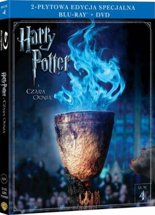 Harry Potter i Czara Ognia (Blu-Ray+dvd)