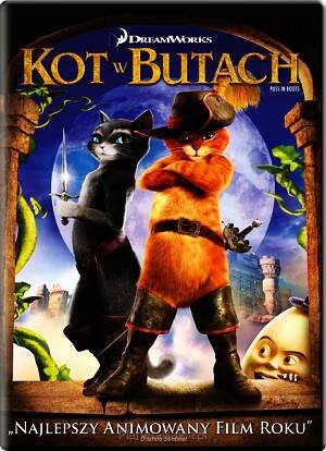 Dreamworks Kot W Butach Dvd
