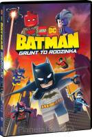 DC Lego: Batman - Grunt to rodzinka (DVD)