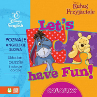 Disney english: Kubuś Puchatek - Let's have fun. Colours (książka)